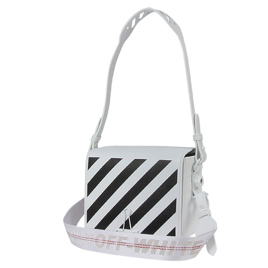 오프화이트 DIAG 플랩백 OWNA011S19423067 0110 WHITE/BLACK [OWB006wh]